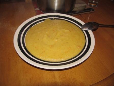Kartoffel-Apfel-Suppe