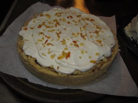 Apfel-Karamellperlen-Torte