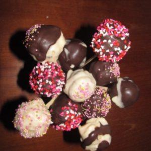Schoko-Cakepops