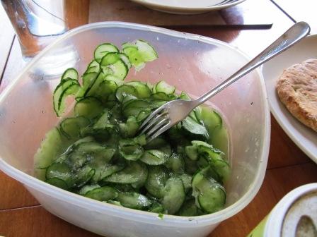 finnischer Gurkensalat