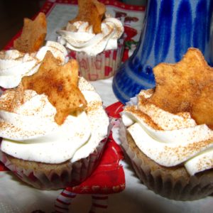 Bratapfel-Cupcakes
