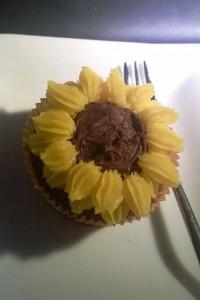 Sonnenblumencupcake