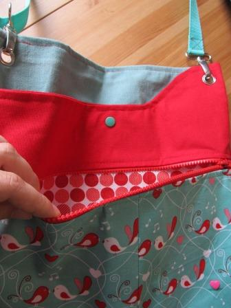 Polly Farbenmix Tasche