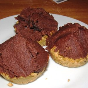 Chocolate Crenache Tarts