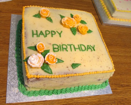 Wilton Cake Decoration Course 1 Lesson 4