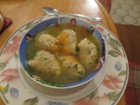 Grießnockerlnsuppe