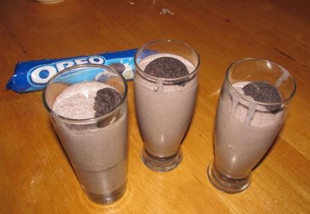 Oreo-Milch-Shake
