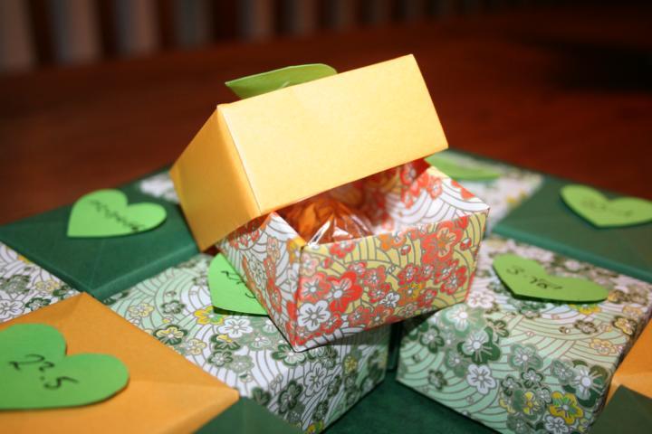 Origamiadventskalender