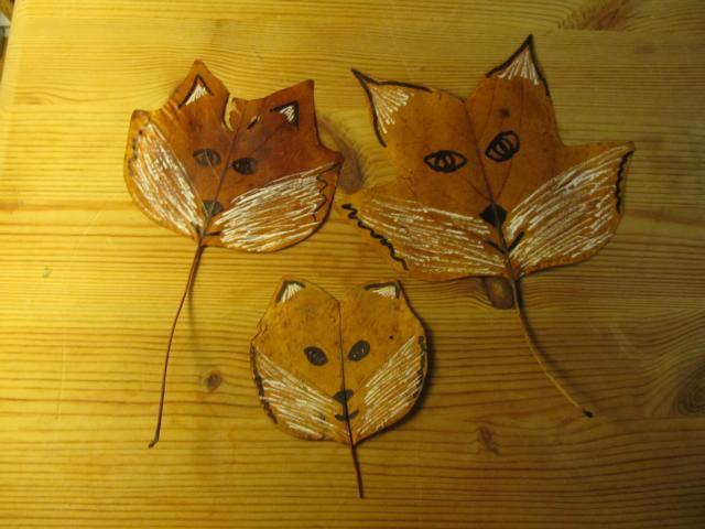 Blätter Fuchs