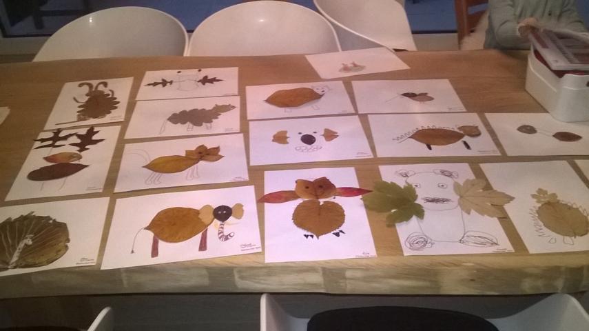 Blättertiere diy