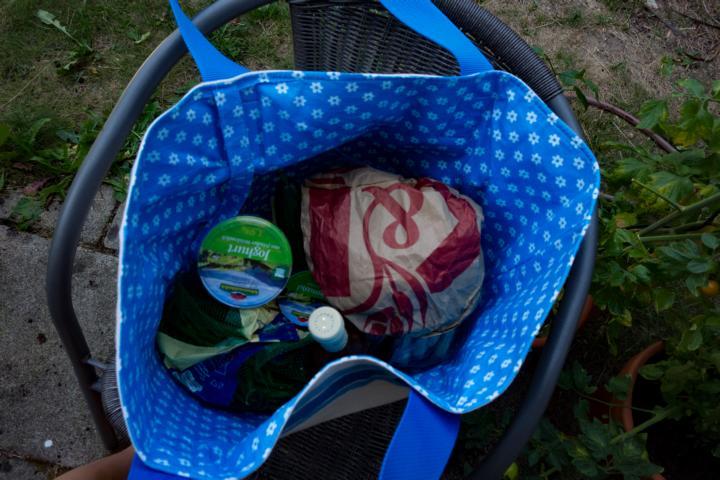 Markttasche Farbenmix Taschenspieler