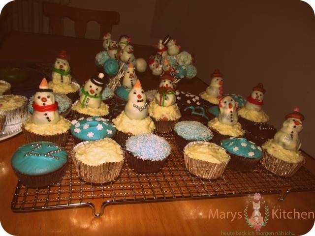 snowman cupcakes (5)