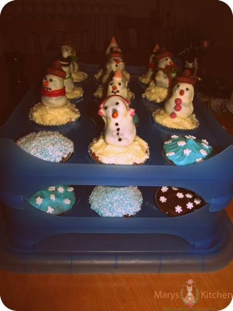 snowman cupcakes (6)