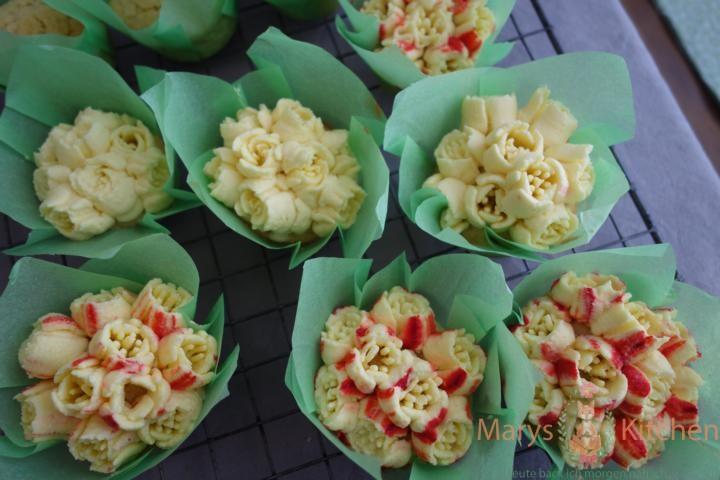 Nifty Nozzles Eierlikör Mango Cupcakes Tulpen (13)