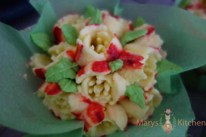 Nifty Nozzles Eierlikör Mango Cupcakes Tulpen (16)