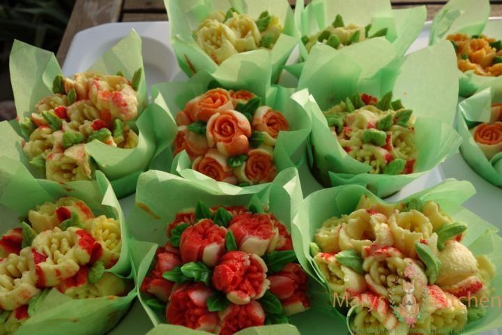 Nifty Nozzles Eierlikör Mango Cupcakes Tulpen (19)