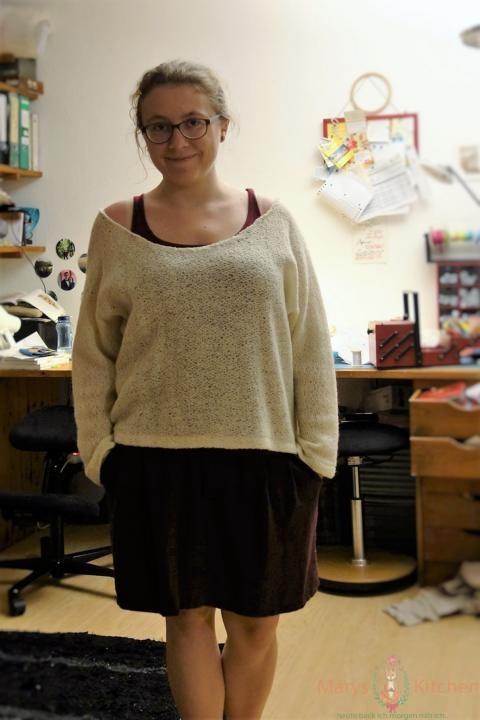 pullover flicken