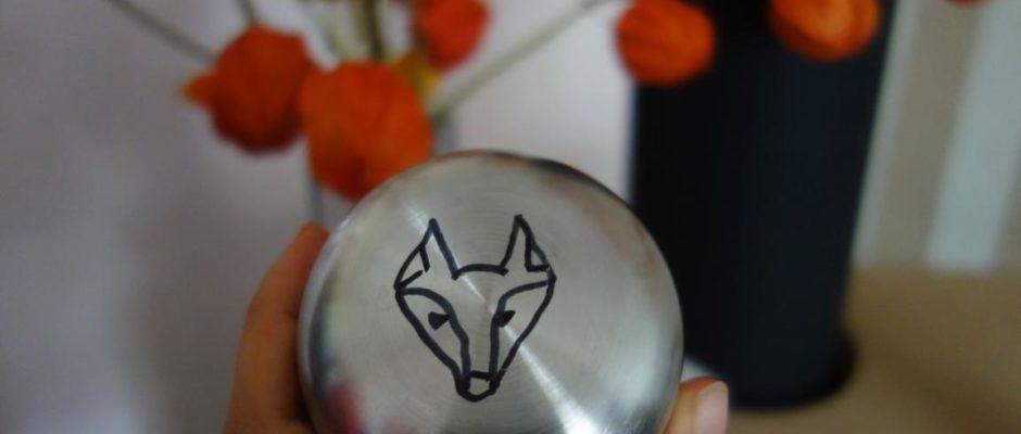 Fuchs-Thermoskanne
