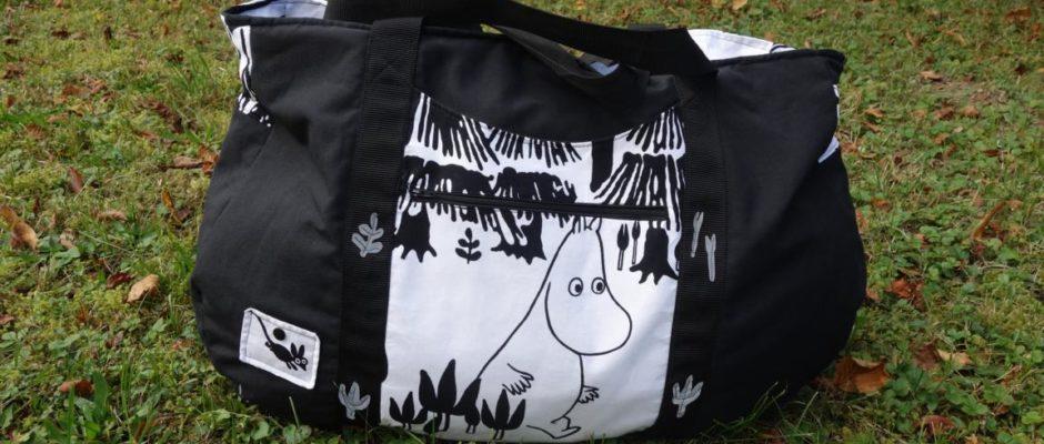 Finnische Moomins-Saunatasche