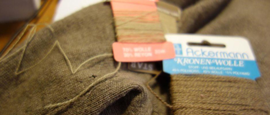 Altes wieder Tragbar 1: Kleidung flicken