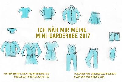 Ich näh mir meine Mini-Garderobe – meine Projektliste