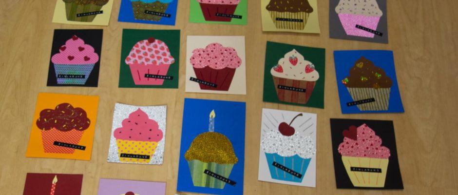 Cupcakeseinladungskarten
