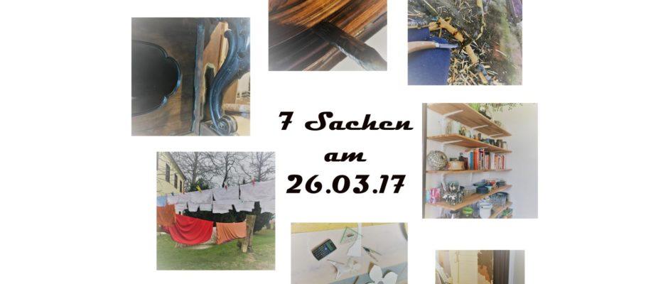 Sieben Sachen (auf der Baustelle) - Bericht 2