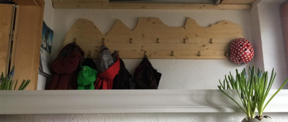 Berggipfel Garderobe Nr. 2