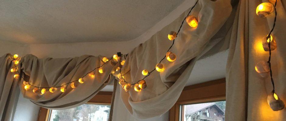 Schneckenhauslichterkette