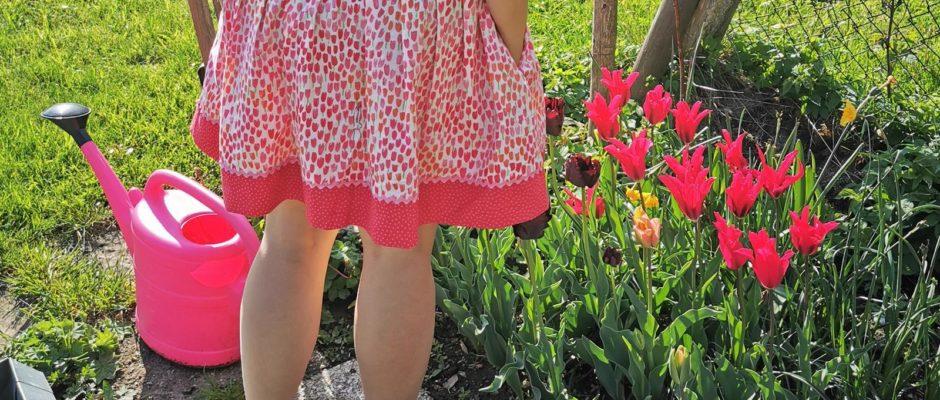 frühlingshafter Tulpenrock