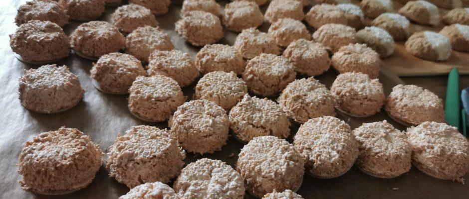 Plätzchenadventskalender Tag 16 Kokosmakronen