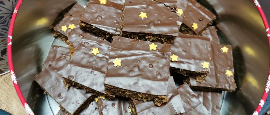 Plätzchenadventskalender Tag 1 Schokoladenbrot
