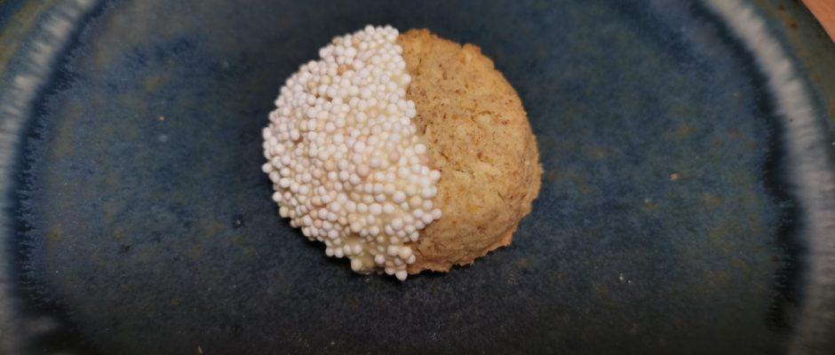 Plätzchenadventskalender Tag 5 Kokosbuchweizenplätzchen