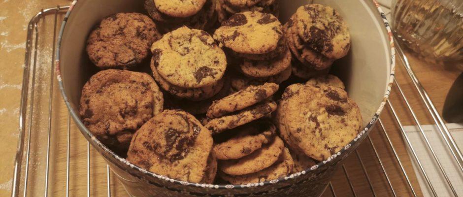 Plätzchenadventskalender Tag 15 Schokocookies